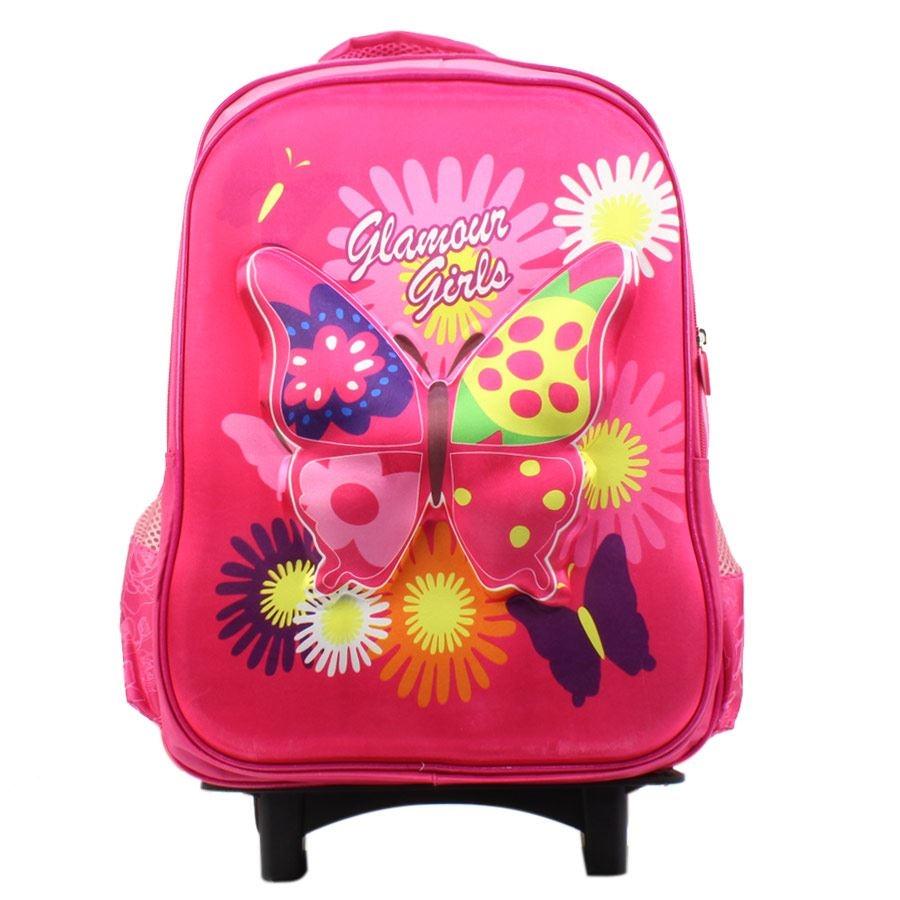Εικόνα από Παιδικές σχολικές τσάντες με παραστάσεις Ροζ