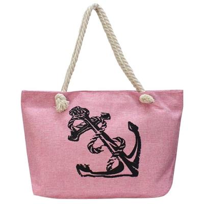 Τσάντες θαλάσσης με άγκυρα Ροζ ροζ