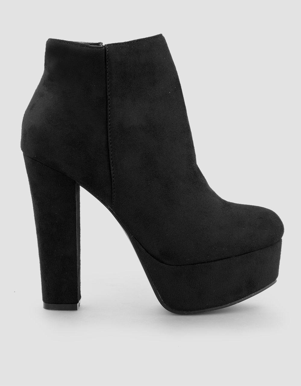 19bdef8bfdf Inshoes.gr. Γυναικεία μποτάκια ψηλοτάκουνα | Inshoes.gr Μαύρο