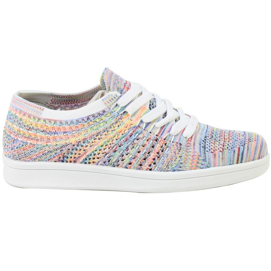 Εικόνα από Γυναικεία sneakers με multicolor γαζιά Multi