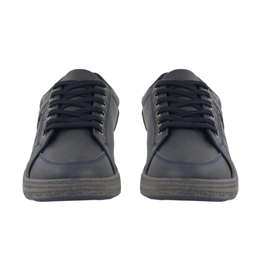 Εικόνα από Ανδρικά sneakers με ανάγλυφο σχέδιο Μπλε