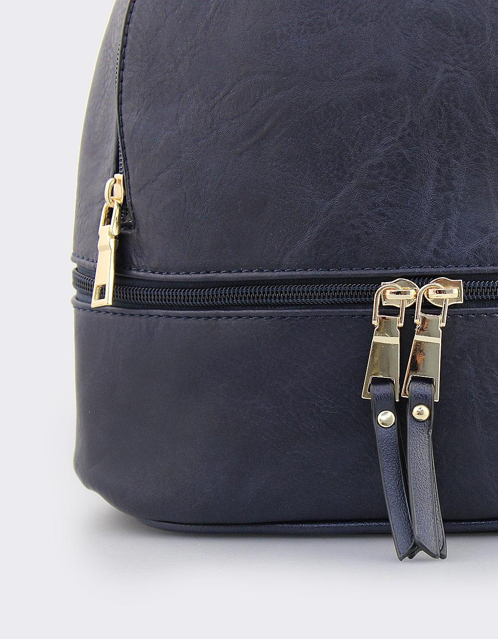 Εικόνα από Σακίδια πλάτης με εξωτερικά φερμουάρ Μπλε