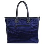 Εικόνα από Γυναικείες τσάντες ώμου με κροκό σχέδιο Μπλε