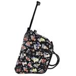 Εικόνα από Γυναικείες τσάντες ταξιδίου με print αρκουδάκια Μαύρο