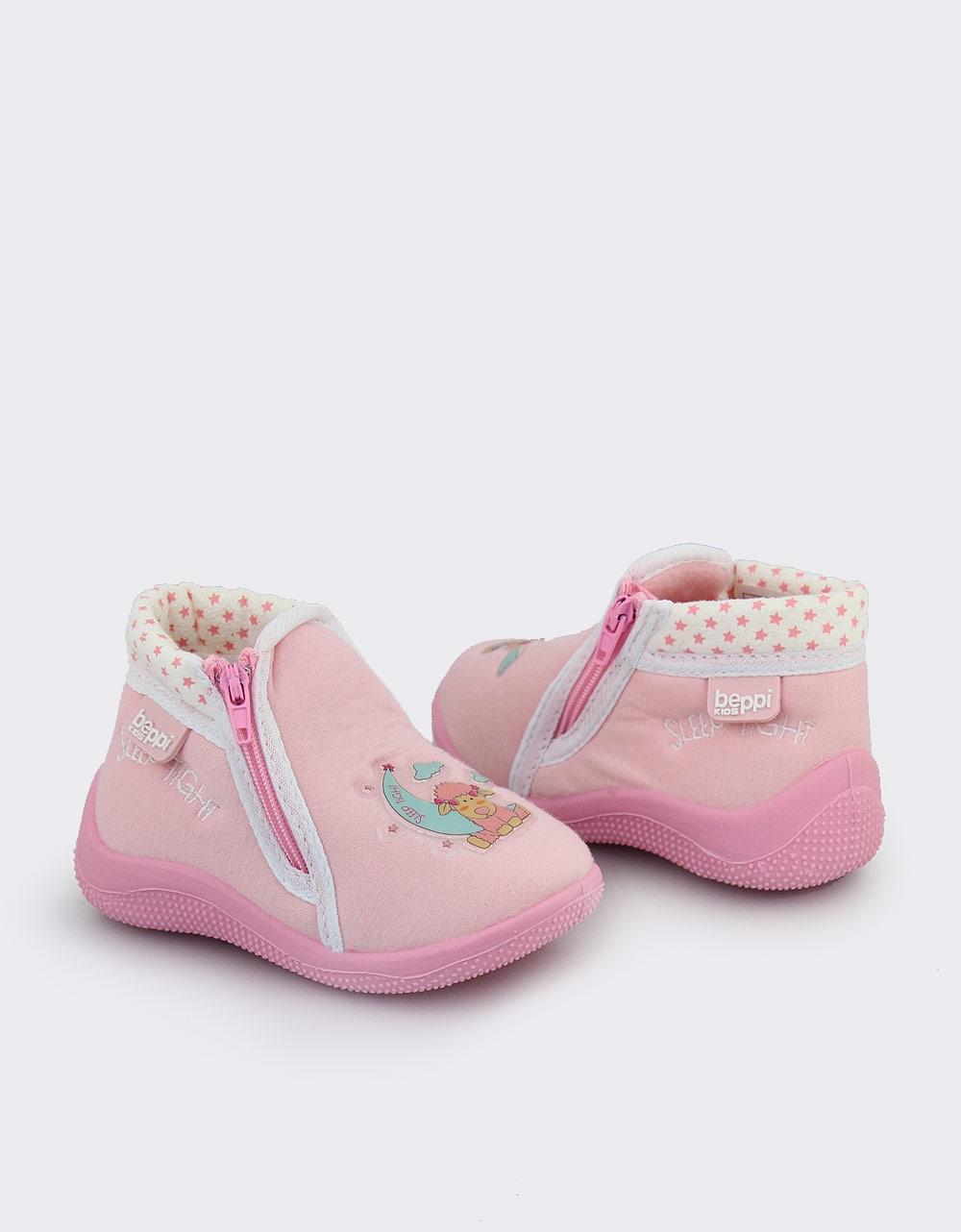 Εικόνα από Παιδικές παντόφλες με φερμουάρ Ροζ