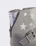 Εικόνα από Παιδικά μποτάκια με διακοσμητικά αστέρια και glitter Γκρι
