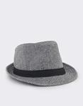 Εικόνα από Γυναικεία καπέλα καρό Μαύρο/Λευκό