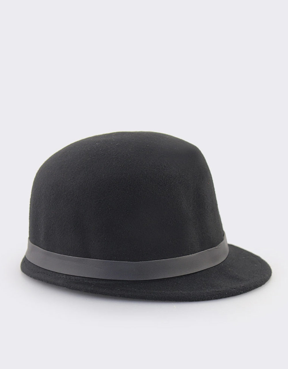 b7a7ca8c54 Εικόνα από Γυναικεια καπέλα με διακοσμητικό λουράκι Μαύρο