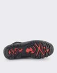 Εικόνα από Ανδρικά μποτάκια με δίχρωμα κορδόνια Μαύρο