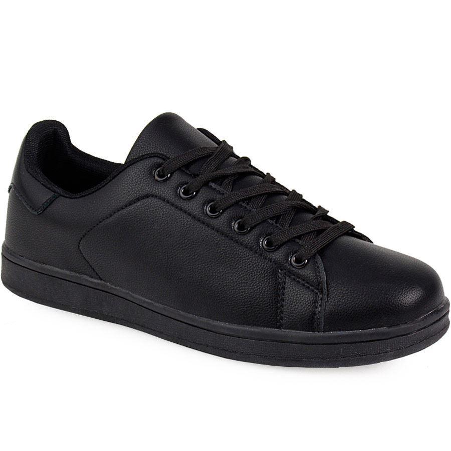 Εικόνα από Γυναικεία sneakers με κορδόνια Μαύρο