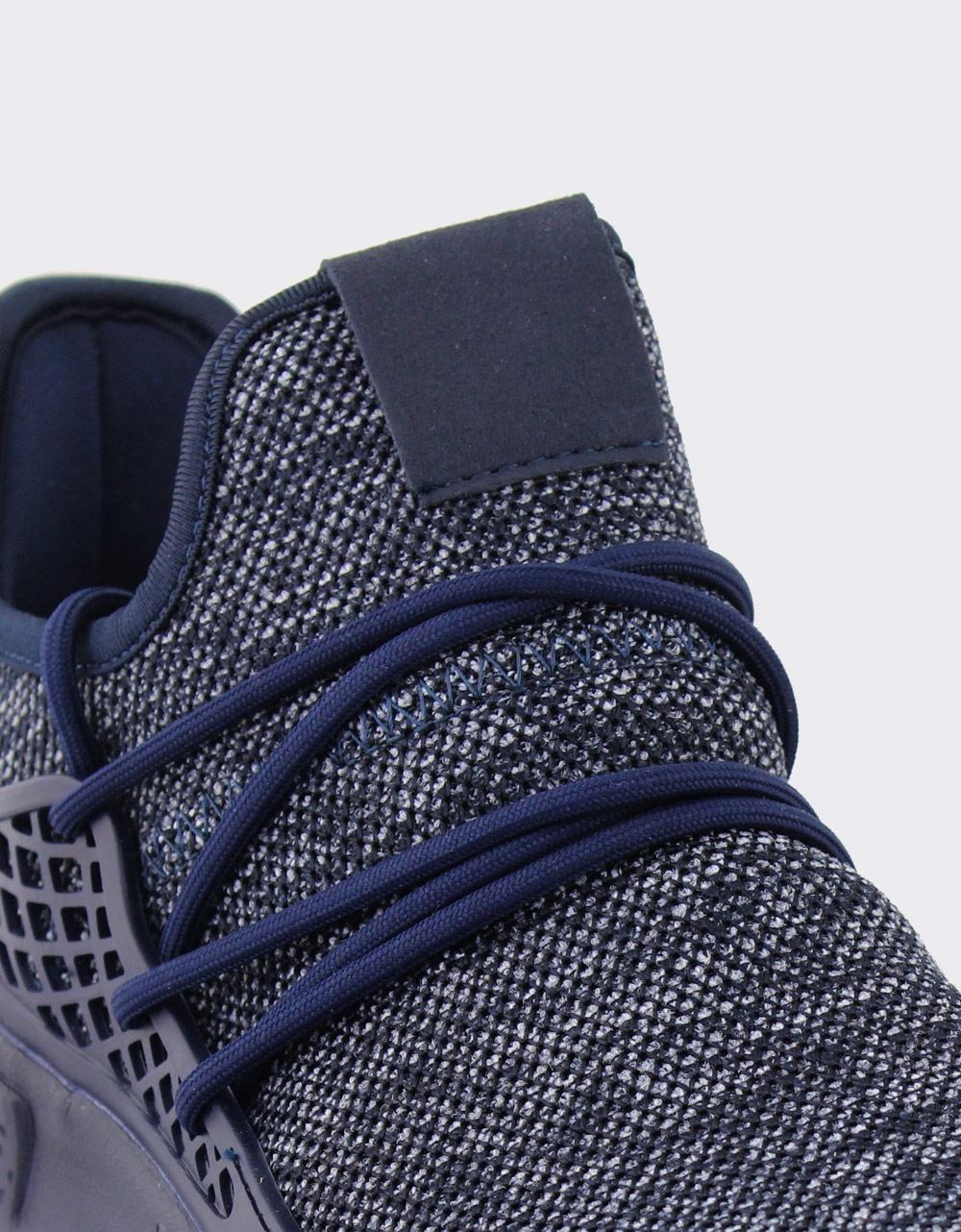 Εικόνα από Ανδρικά sneakers με ανάγλυφα σχέδια Μπλε