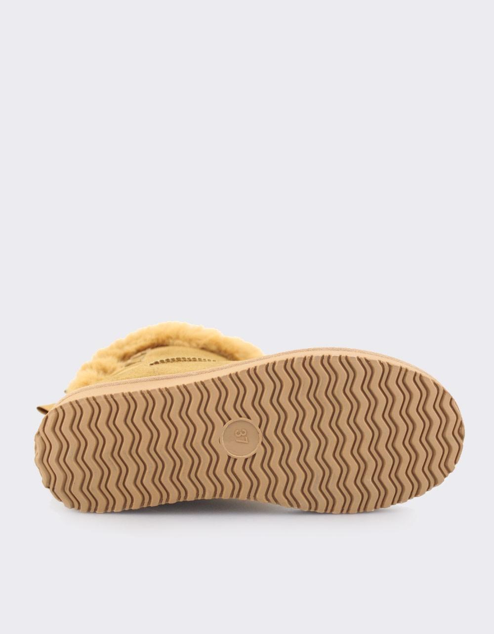 Εικόνα από Γυναικεία μποτάκια με διπλό φιόγκο Ταμπά