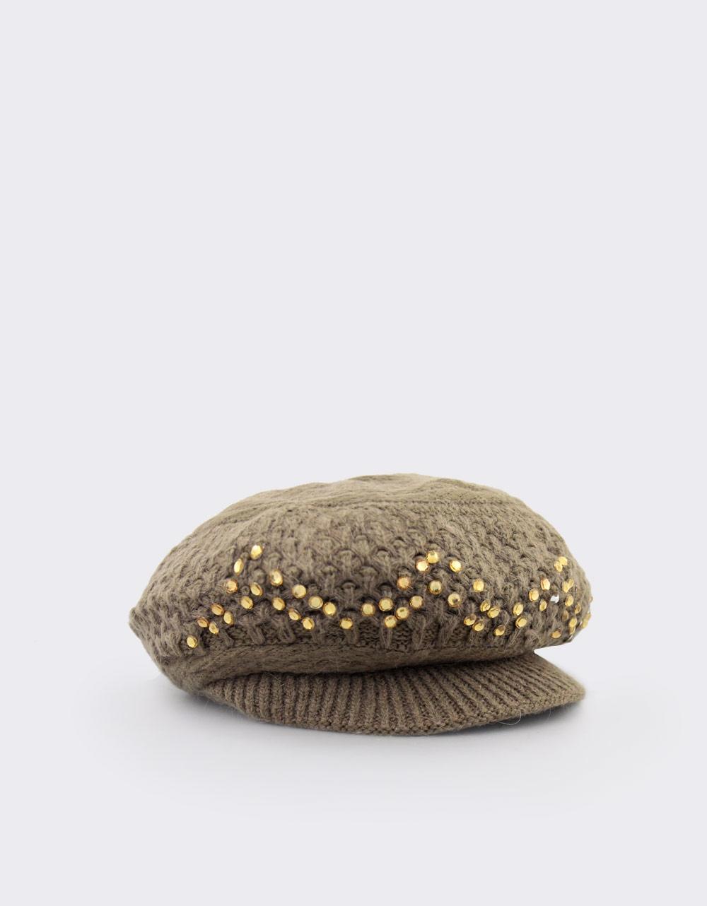 Εικόνα από Γυναικεία καπέλα πλεκτά με stubs Πούρο