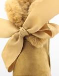Εικόνα από Γυναικεία μποτάκια με φιόγκο στο πίσω μέρος Ταμπά