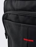 Εικόνα από Ανδρικές τσάντες ώμου με χρωματιστή λεπτομέρεια Μαύρο