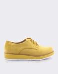 Εικόνα από Γυναικεία loafers μονόχρωμα Κίτρινο