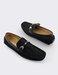 Εικόνα από Ανδρικά loafers σε απλή γραμμή Μαύρο