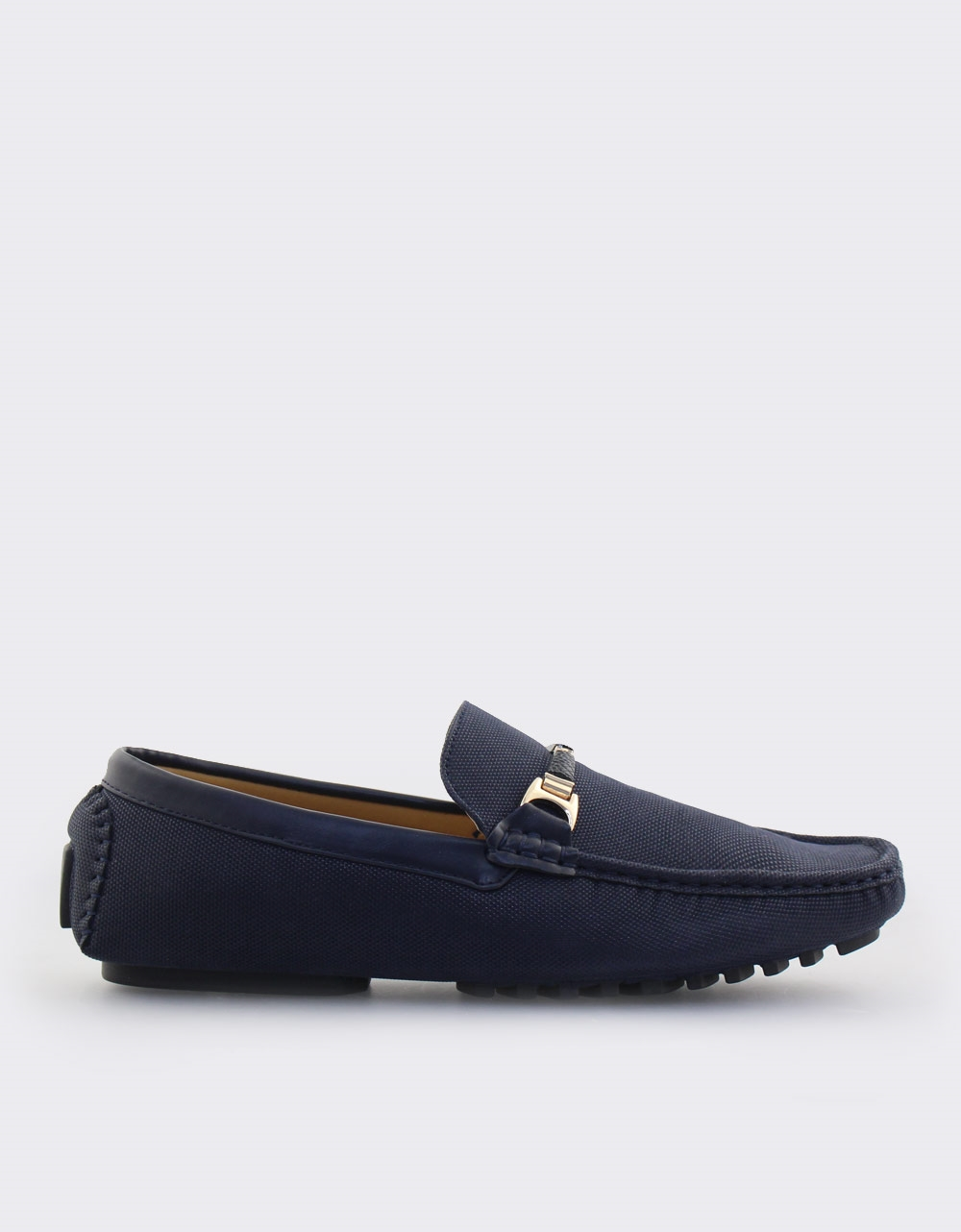 9399126a8e9 Ανδρικά loafers σε απλή γραμμή Μπλε