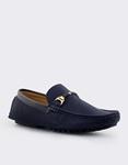 Εικόνα από Ανδρικά loafers σε απλή γραμμή Μπλε