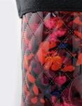 Εικόνα από Γυναικείες γαλότσες με καπιτονέ σχέδιο Multi