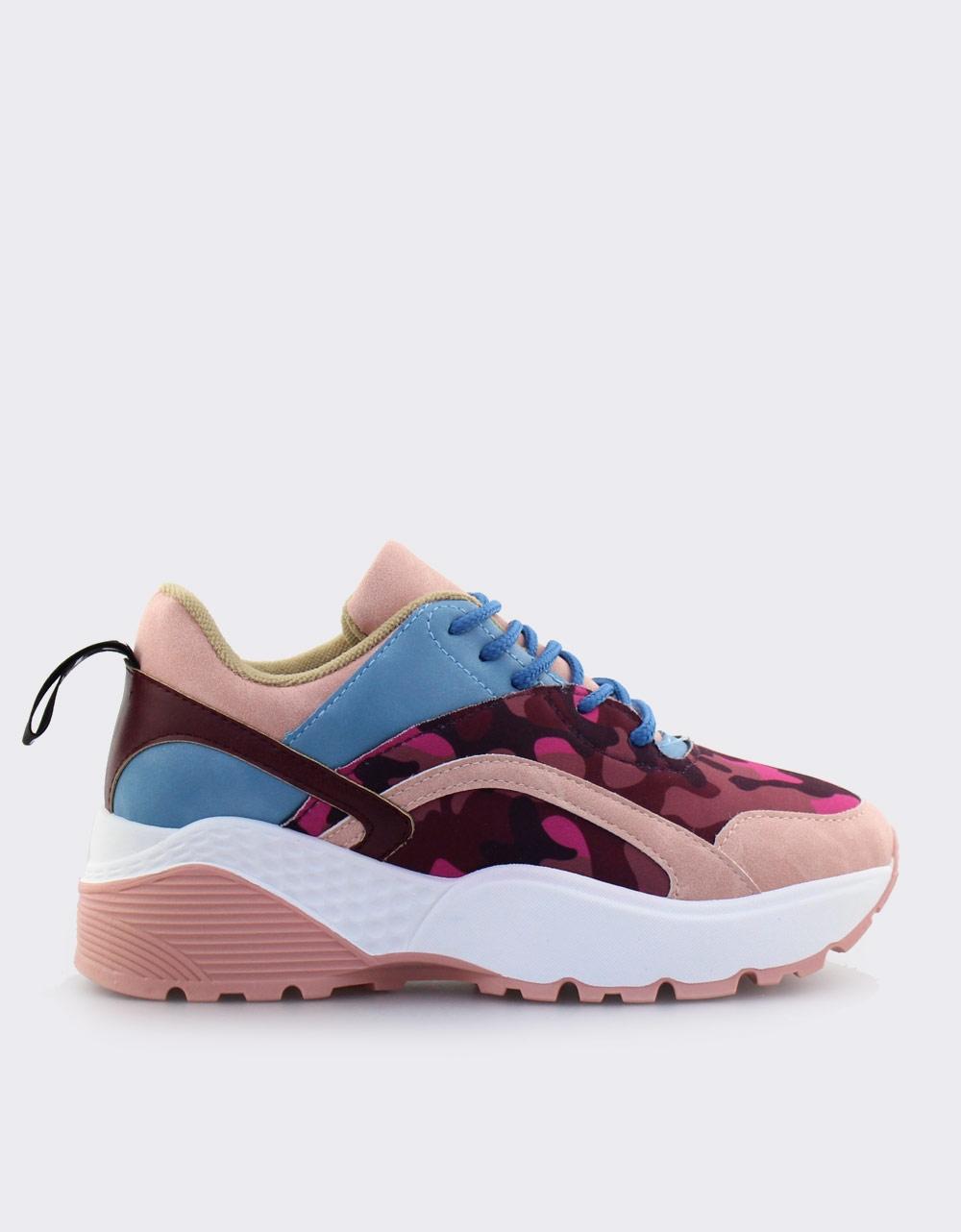 Εικόνα από Γυναικεία sneakers πολύχρωμα Ροζ