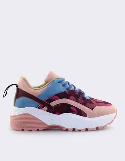 Εικόνα της Γυναικεία sneakers πολύχρωμα Ροζ