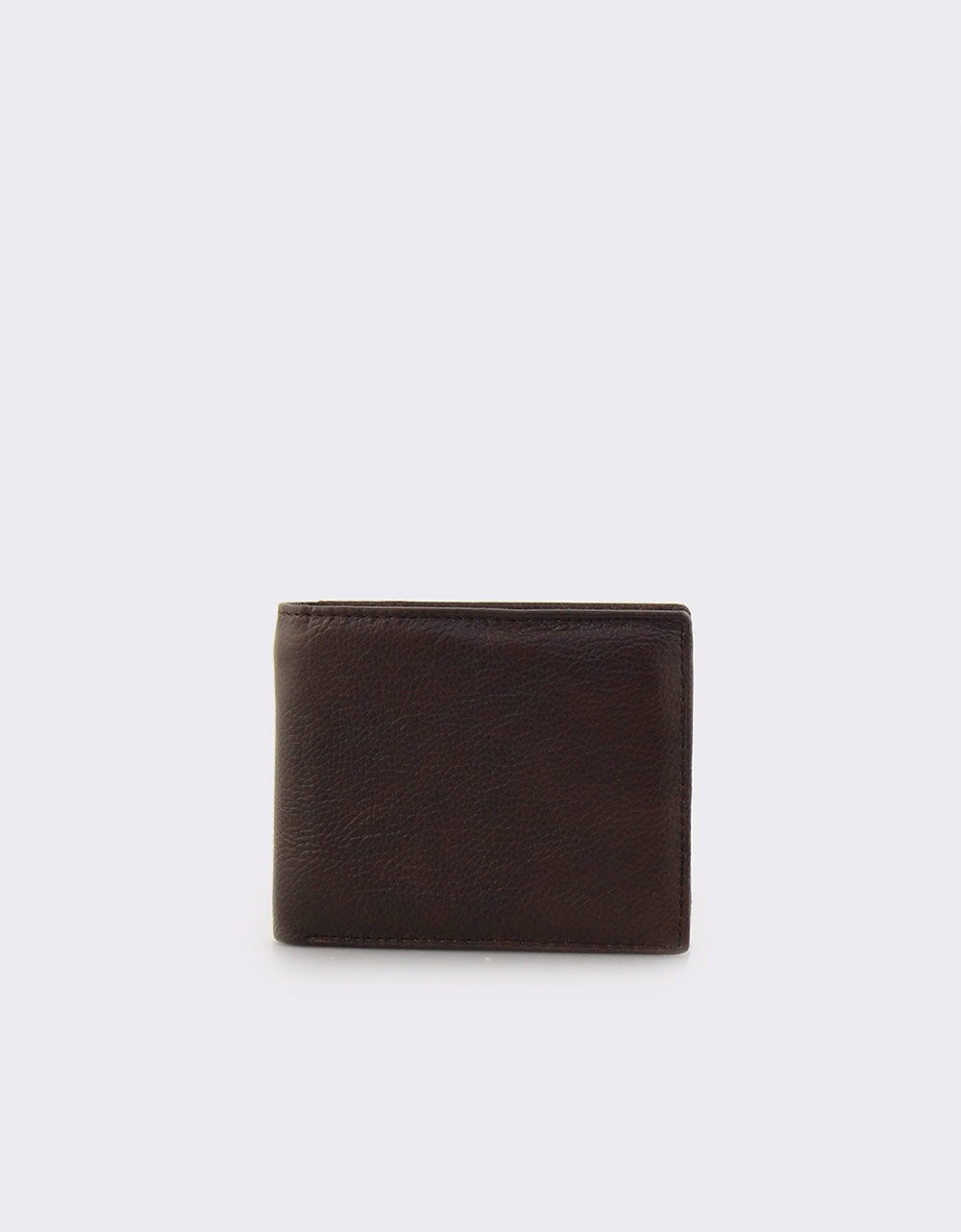 Εικόνα από Ανδρικά δερμάτινα πορτοφόλια σε απλή γραμμή Καφέ