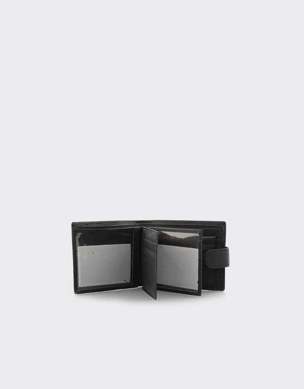 Εικόνα από Ανδρικά δερμάτινα πορτοφόλια Μαύρο