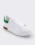Εικόνα από Γυναικεία sneakers με δίχρωμο σχέδιο Λευκό/Πράσινο