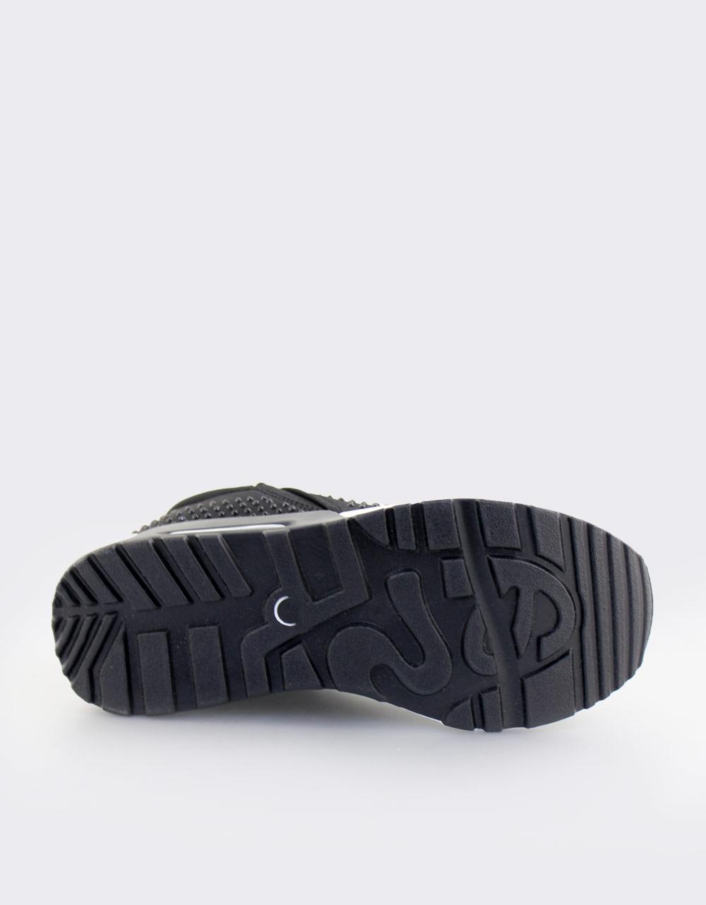 Εικόνα από Γυναικεία sneakers με strass Μαύρο