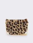 Εικόνα από Γυναικείες τσάντες ώμου γούνινες Λεοπάρ