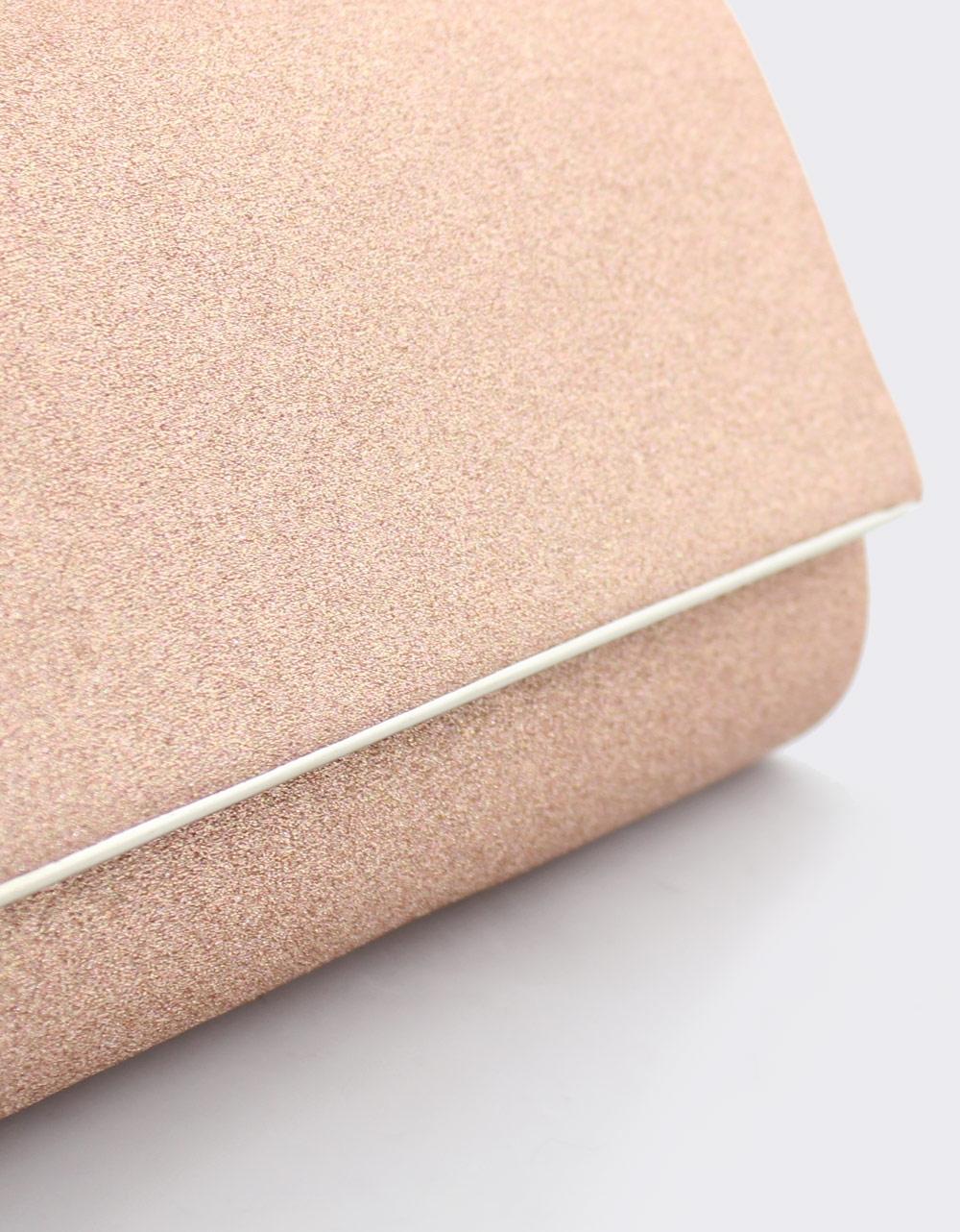 Εικόνα από Γυναικείοι φάκελοι με glitter Ροζ
