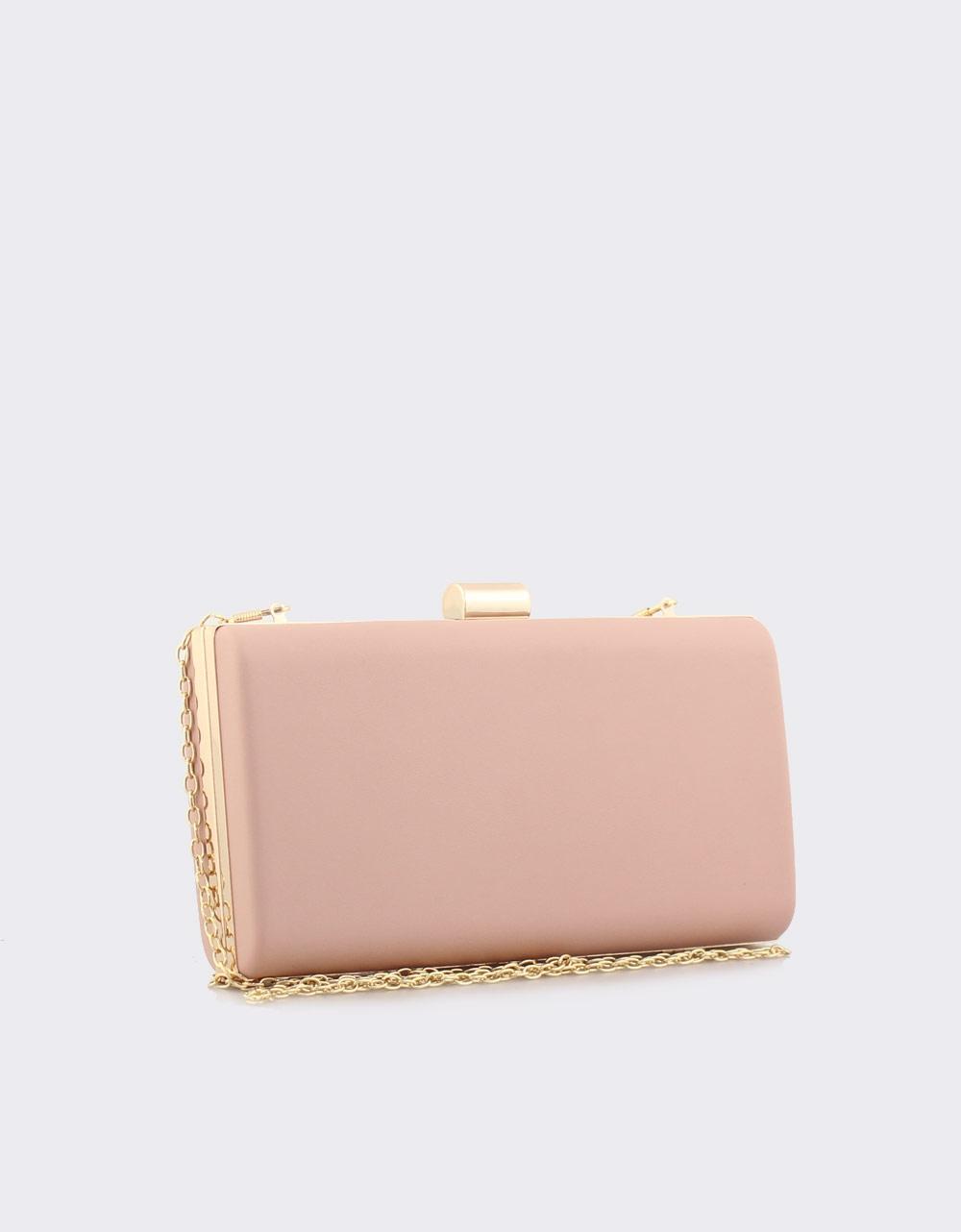 Εικόνα από Γυναικείοι φάκελοι clutch με αλυσίδα Ροζ
