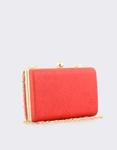 Εικόνα από Γυναικείοι φάκελοι clutch με ανάγλυφη υφή Κόκκινο