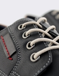 Εικόνα από Ανδρικά loafers με δίχρωμες λεπτομέρειες Μαύρο