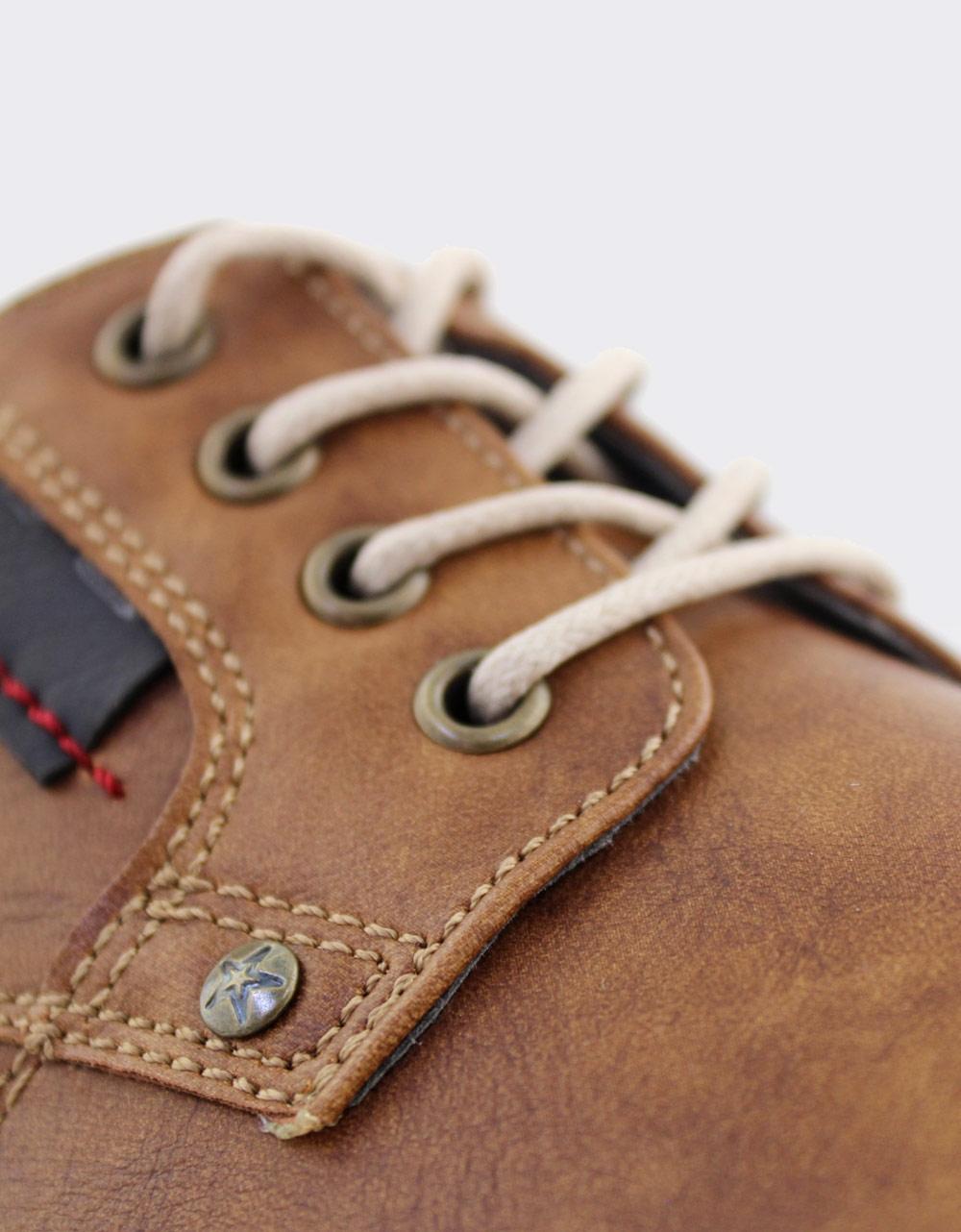 Εικόνα από Ανδρικά loafers με δίχρωμες λεπτομέρειες Ταμπά