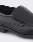 Εικόνα από Ανδρικά loafers με εξωτερικές ραφές Μαύρο