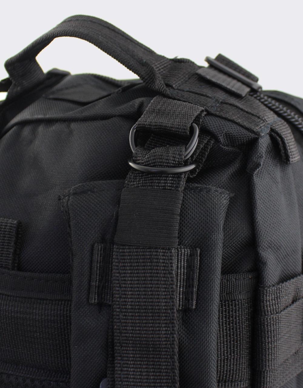 Εικόνα από Ανδρικά σακίδια πλάτης με πολλαπλές θήκες Μαύρο