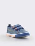 Εικόνα από Παιδικά sneakers με ραφές Τζιν