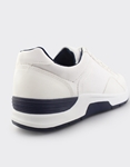 Εικόνα από Ανδρικά sneakers σε απλή γραμμή Λευκό