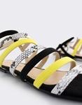 Εικόνα από Γυναικεία σανδάλια με λουράκια Μαύρο