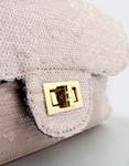 Εικόνα από Γυναικείες τσάντες ώμου με πούλιες Ροζ