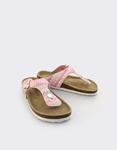 Εικόνα από Παιδικά σανδάλια με σχέδια και glitter Ροζ