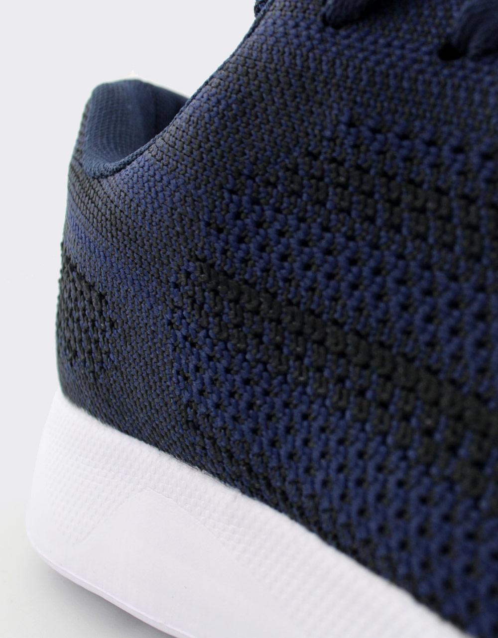 Εικόνα από Ανδρικά sneakers με δίχρωμες λεπτομέρειες Navy