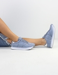 Εικόνα από Γυναικεία sneakers με ρίγα στη σόλα Σιέλ