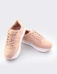 Εικόνα από Γυναικεία sneakers με ρίγα στη σόλα Ροζ