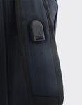 Εικόνα από Ανδρικά σακίδια πλάτης με μεταλλικό διακοσμητικό Μπλε