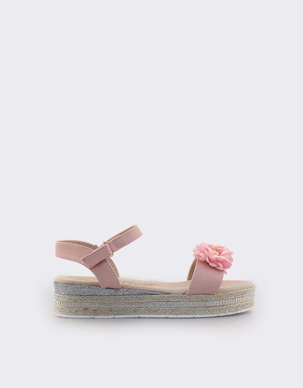 03d35aadeca Inshoes.gr. Παιδικά πέδιλα με λουλουδάκια | InShoes.gr Ροζ