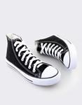 Εικόνα από Γυναικεία sneakers μποτάκια Μαύρο