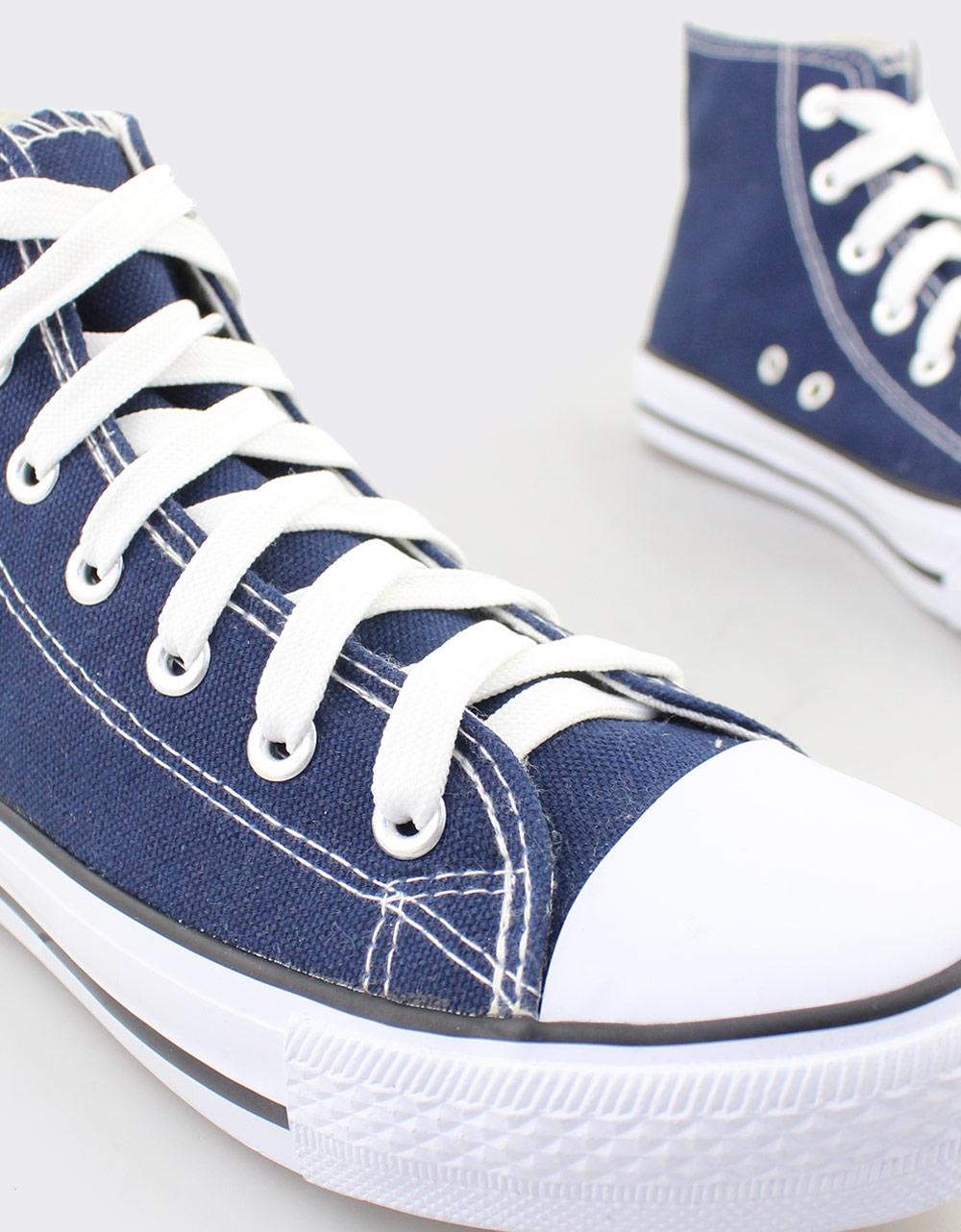 Εικόνα από Γυναικεία sneakers μποτάκια Μπλε